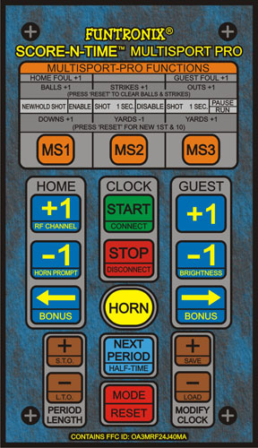 Replacement Keypad