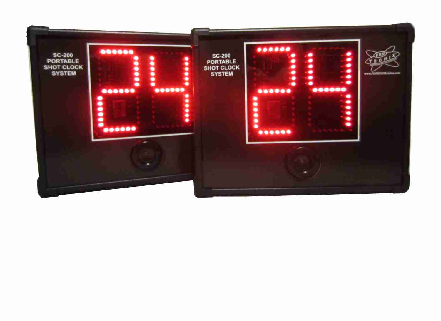 Portable wireless shot clock system