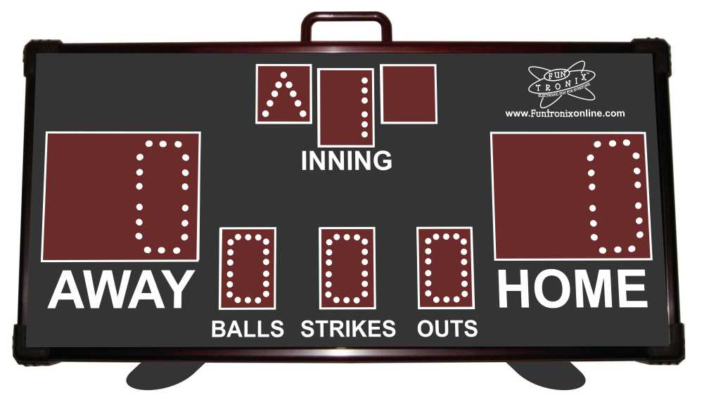SNT-140BB Portable Wireless Baseball Scoreboard