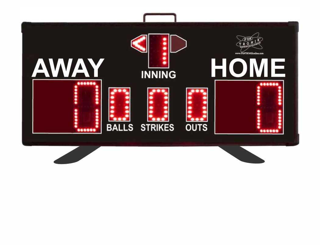 SNT-300BB Wireless Portable Baseball Scoreboard