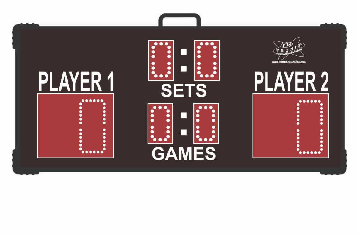 SNT-300T Portable Tennis Scoreboard
