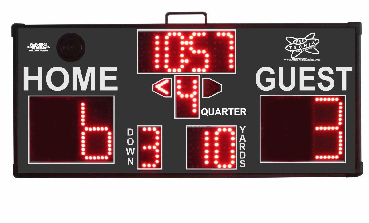 SNT-300F Portable Football Scoreboard
