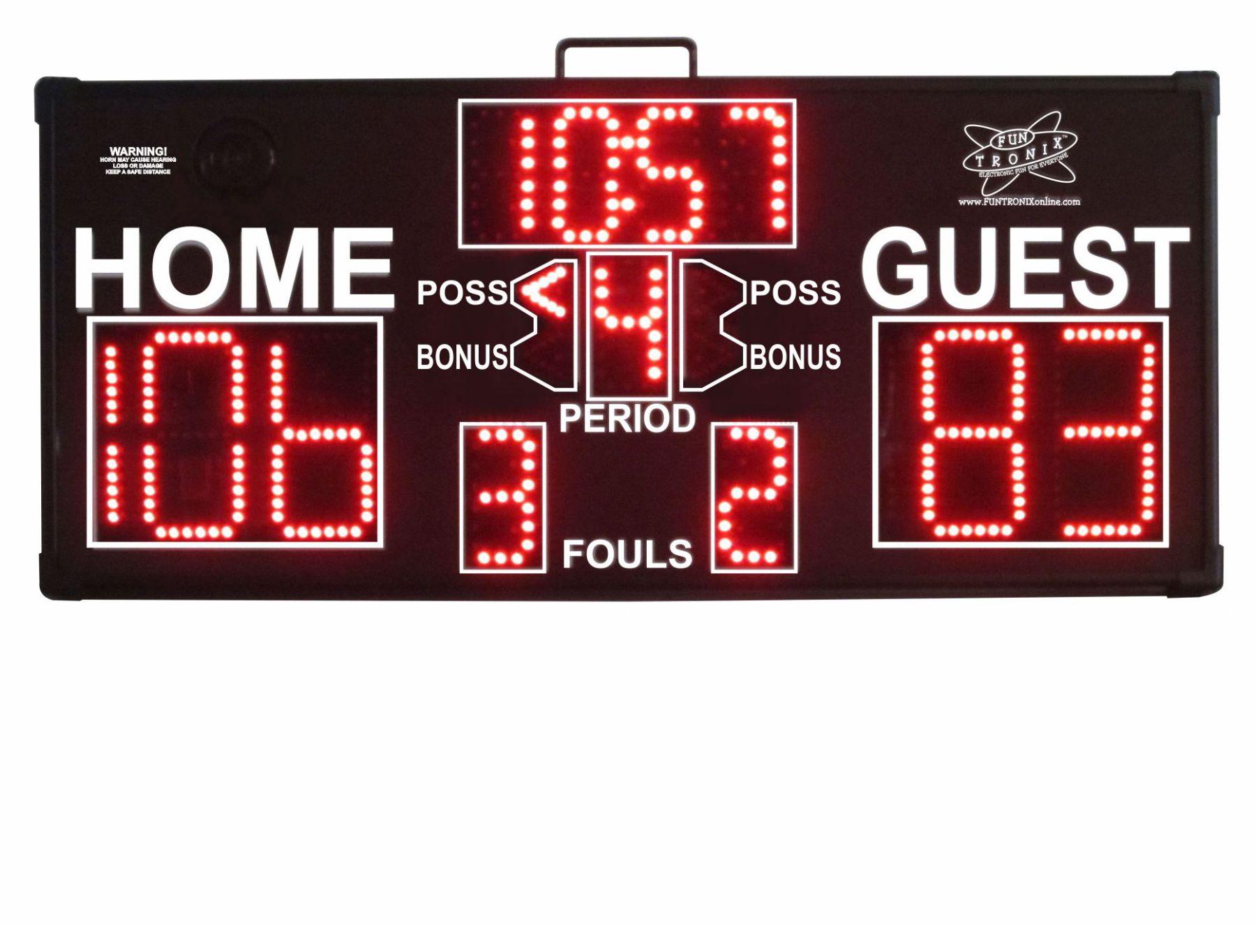 Mid-Sized Portable Scoreboard