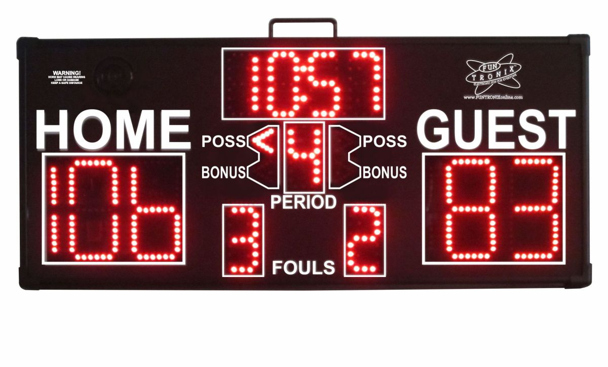 Mid-Sized Portable Scoreboard