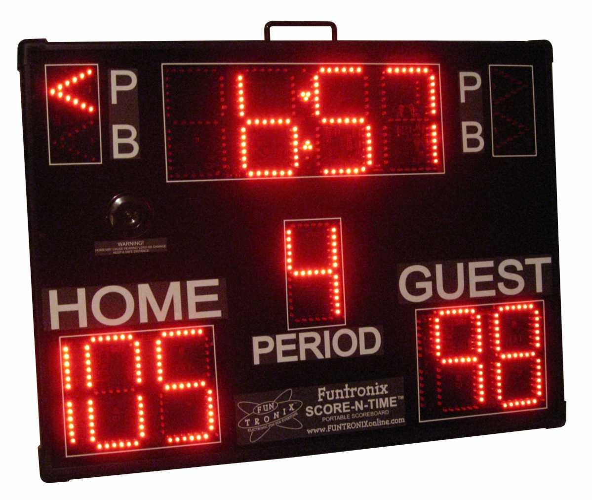 Large Portable Multisport Scoreboard