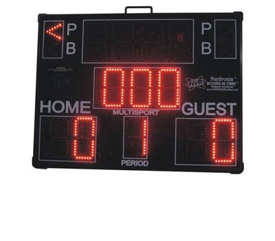 Multisport Portable Scoreboard baseball mode