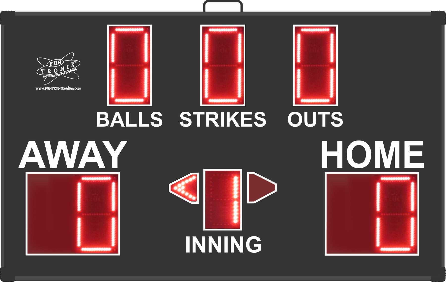 Portable Baseball Scoreboard