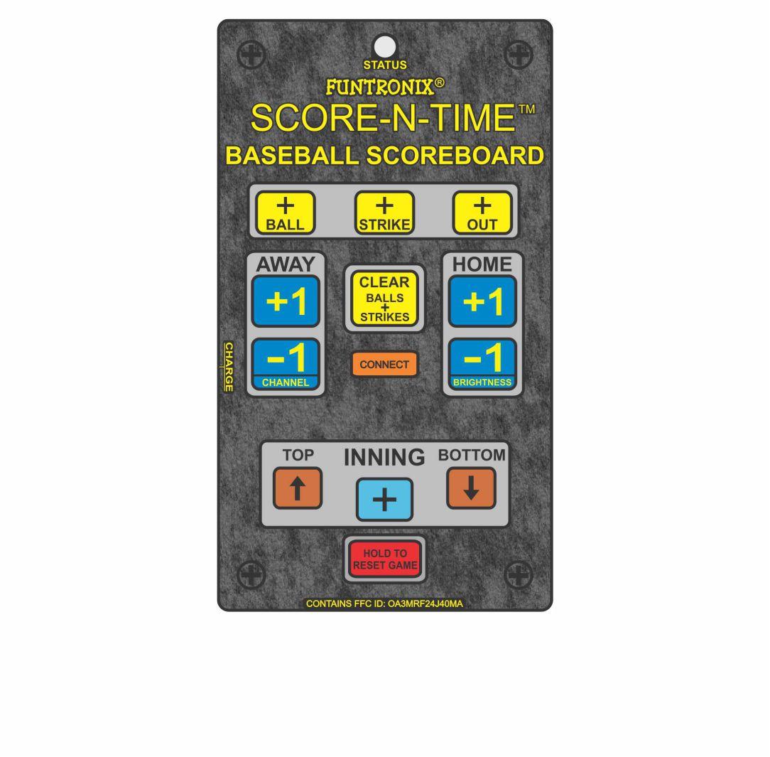 SNT-800BB ultra large portable scoreboard wireless keypad
