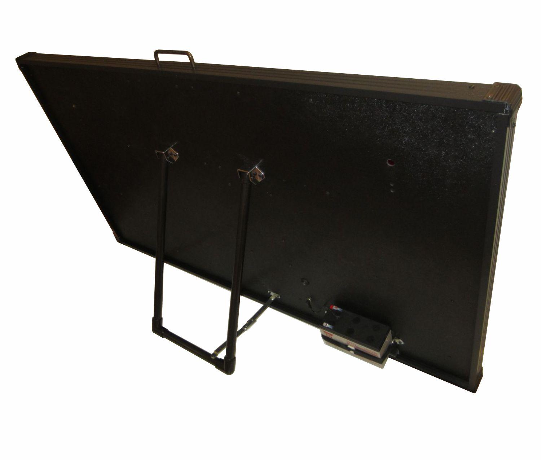SNT-800BB ultra-large portable baseball scoreboard rear-view