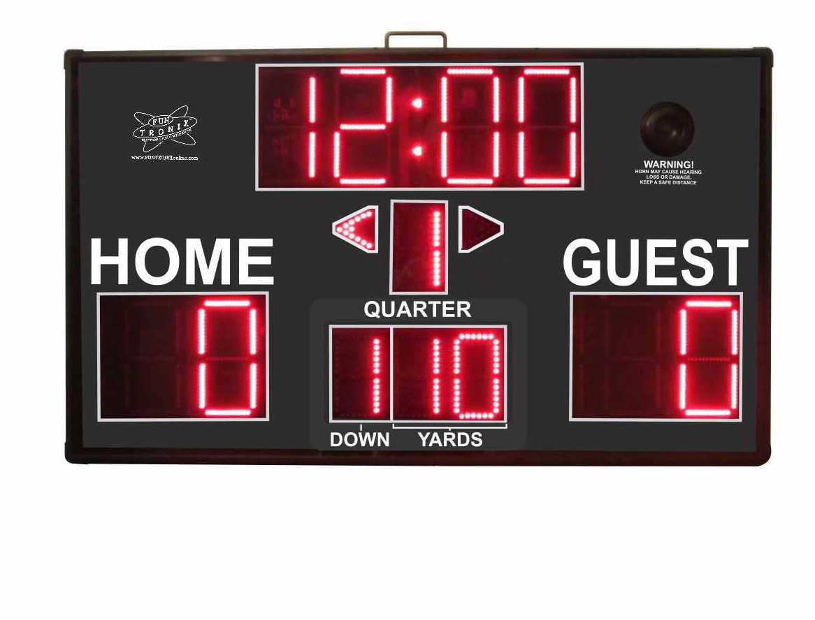 Portable Football Scoreboard