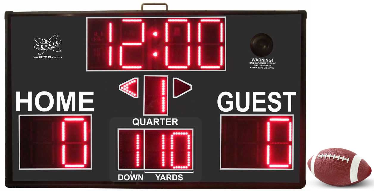 SNT-800F Portable Football Scoreboard