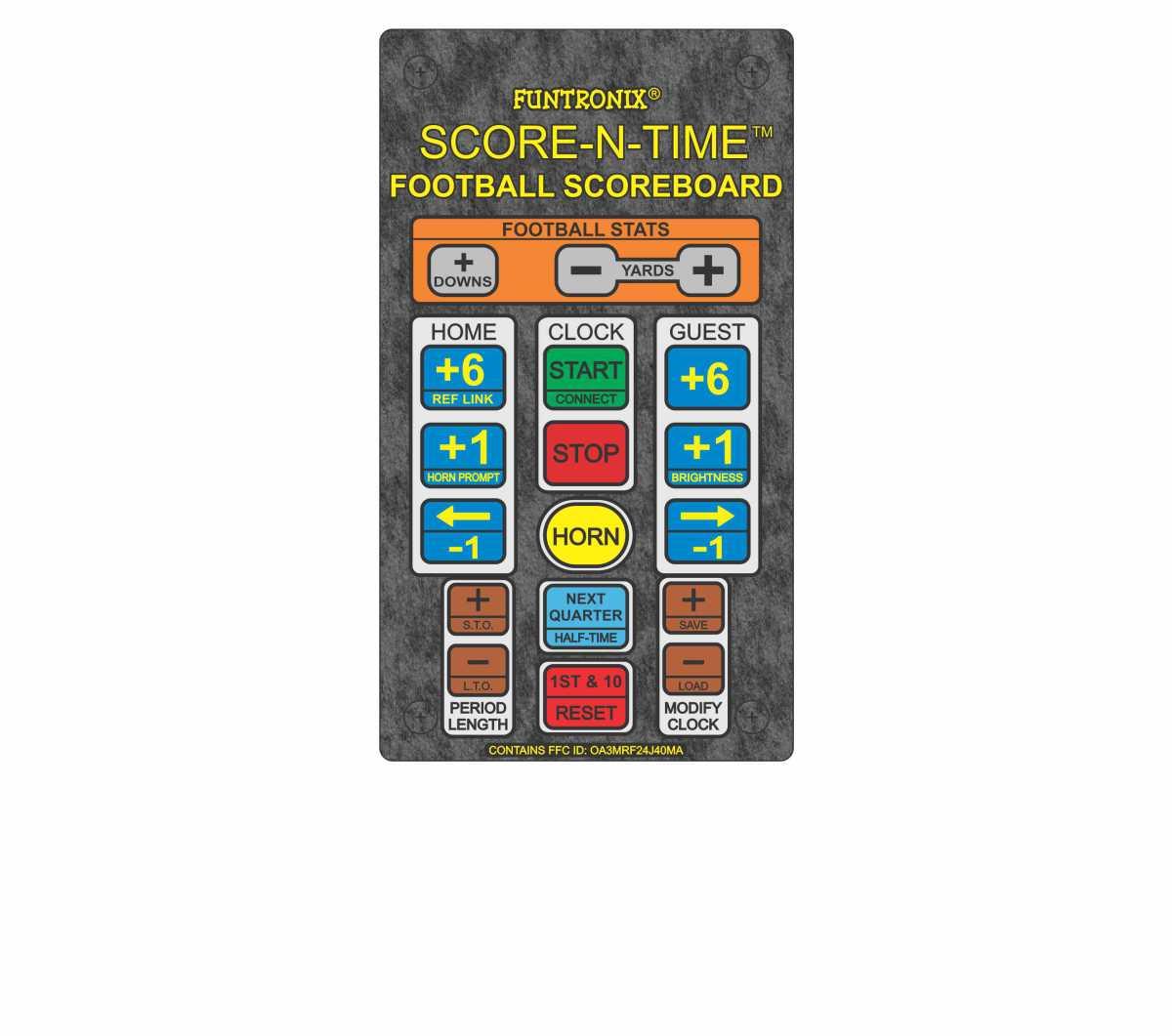 SNT-800F ultra large portable scoreboard wireless keypad