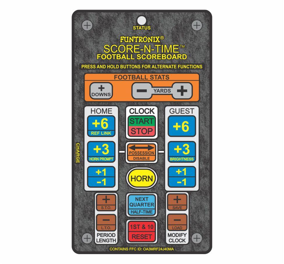 Wireless Football Keypad