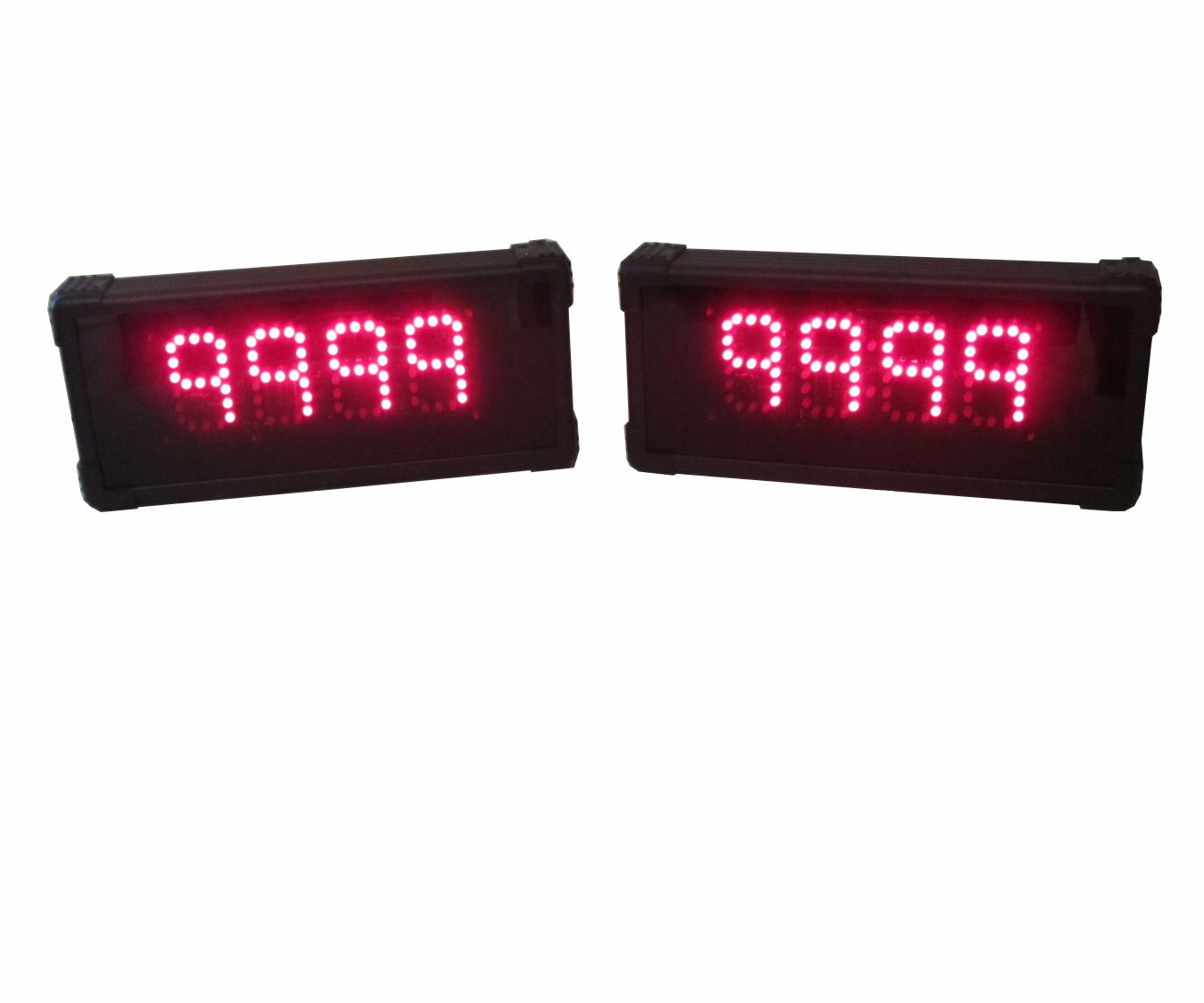 Two-Team 4-digit Gameshow Scoreboards