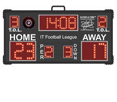 Custom Wireless Football Scoreboard