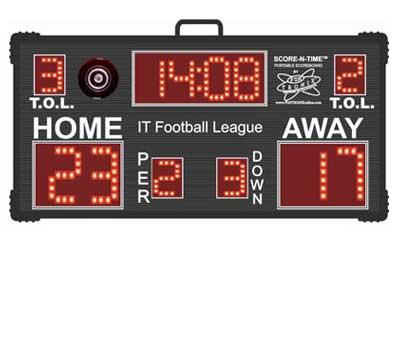 Custom Wireless Football Scoreboard