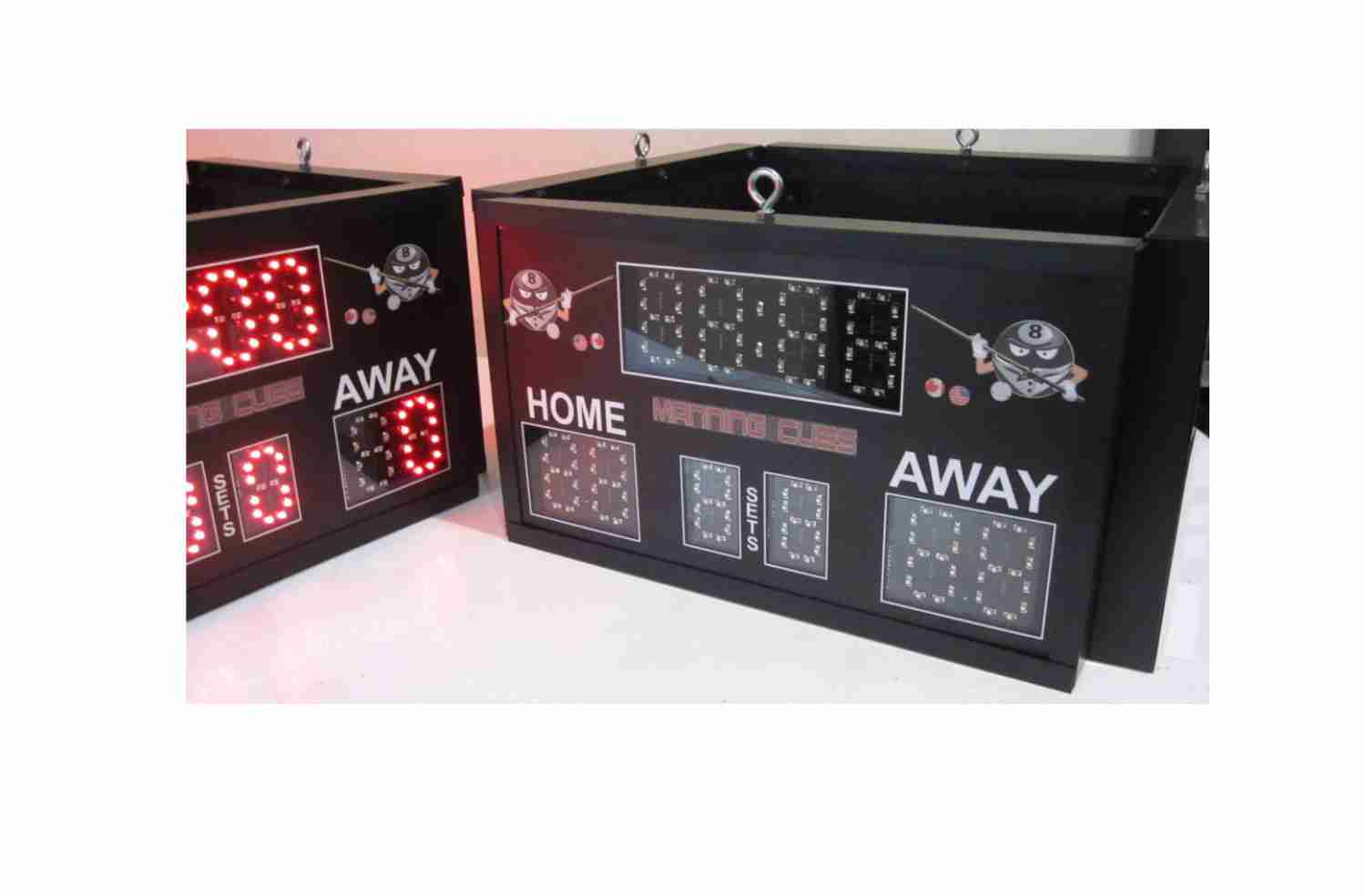 4-sided Manning Cues Scoreboard