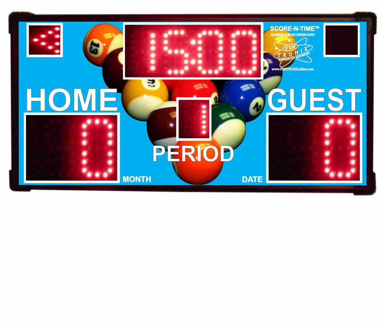 Custom Home Scoreboards
