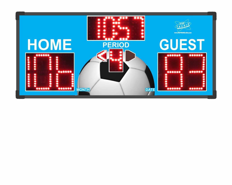 Soccer Custom Scoreboard