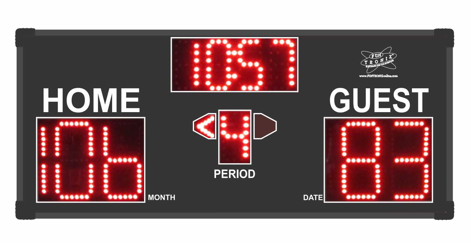 Large Game Room Scoreboard