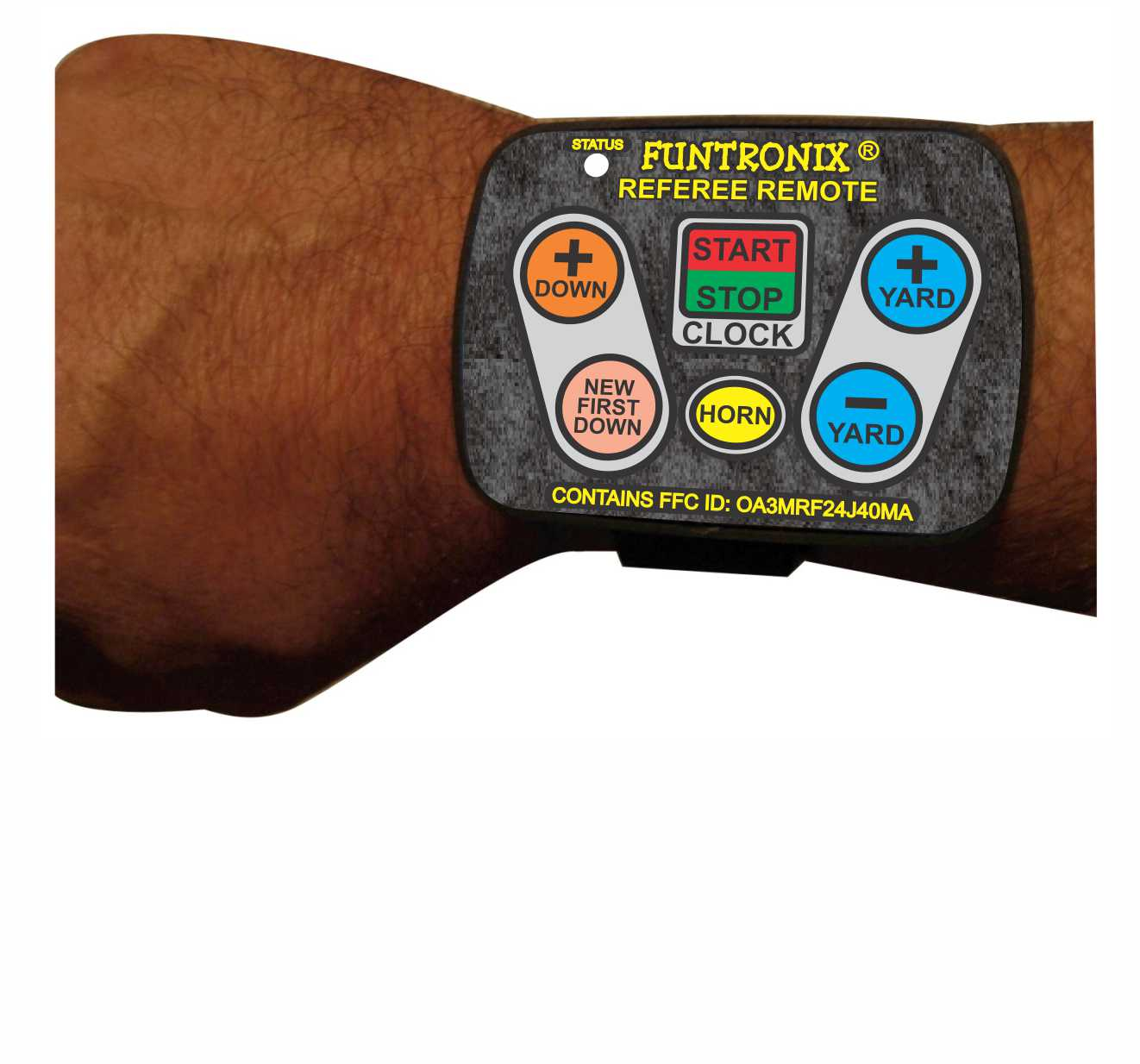 Referee Wrist Remote For Football