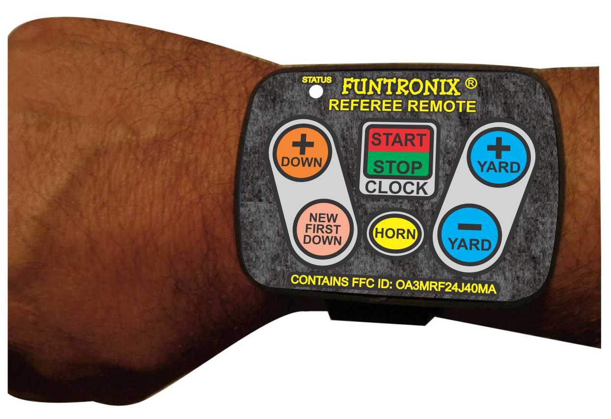Wrist Remote for Football